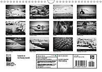 Island in Schwarzweiß (Wandkalender 2019 DIN A4 quer) - Produktdetailbild 13