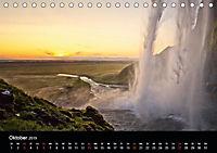Island - Insel aus Feuer und Eis (Tischkalender 2019 DIN A5 quer) - Produktdetailbild 2