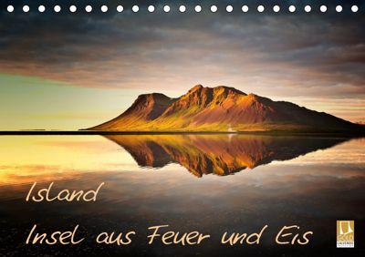 Island - Insel aus Feuer und Eis (Tischkalender 2019 DIN A5 quer), Carsten Meyerdierks