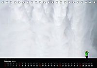 Island - Insel aus Feuer und Eis (Tischkalender 2019 DIN A5 quer) - Produktdetailbild 1