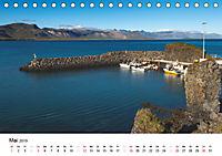 Island - Insel unter dem Polarkreis (Tischkalender 2019 DIN A5 quer) - Produktdetailbild 5