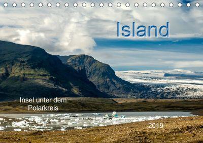 Island - Insel unter dem Polarkreis (Tischkalender 2019 DIN A5 quer), Heinz Pompsch