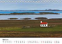 Island - Insel unter dem Polarkreis (Tischkalender 2019 DIN A5 quer) - Produktdetailbild 4