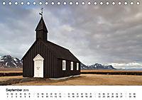 Island: Isländische Kirchen (Tischkalender 2019 DIN A5 quer) - Produktdetailbild 9