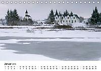 Island: Isländische Kirchen (Tischkalender 2019 DIN A5 quer) - Produktdetailbild 1