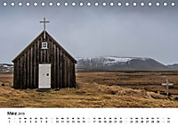 Island: Isländische Kirchen (Tischkalender 2019 DIN A5 quer) - Produktdetailbild 3