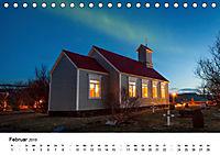 Island: Isländische Kirchen (Tischkalender 2019 DIN A5 quer) - Produktdetailbild 2