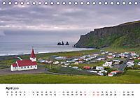 Island: Isländische Kirchen (Tischkalender 2019 DIN A5 quer) - Produktdetailbild 4