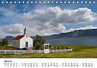 Island: Isländische Kirchen (Tischkalender 2019 DIN A5 quer) - Produktdetailbild 7
