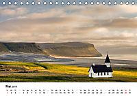 Island: Isländische Kirchen (Tischkalender 2019 DIN A5 quer) - Produktdetailbild 5