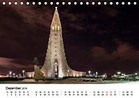 Island: Isländische Kirchen (Tischkalender 2019 DIN A5 quer) - Produktdetailbild 12