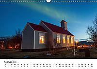 Island: Isländische Kirchen (Wandkalender 2019 DIN A3 quer) - Produktdetailbild 2