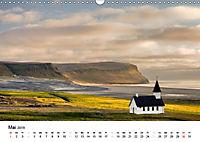 Island: Isländische Kirchen (Wandkalender 2019 DIN A3 quer) - Produktdetailbild 5
