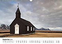 Island: Isländische Kirchen (Wandkalender 2019 DIN A3 quer) - Produktdetailbild 9