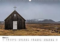 Island: Isländische Kirchen (Wandkalender 2019 DIN A3 quer) - Produktdetailbild 3