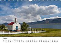 Island: Isländische Kirchen (Wandkalender 2019 DIN A3 quer) - Produktdetailbild 7