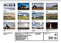 Island: Isländische Kirchen (Wandkalender 2019 DIN A3 quer) - Produktdetailbild 13
