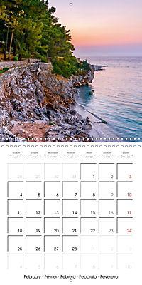 Island of Lefkada (Wall Calendar 2019 300 × 300 mm Square) - Produktdetailbild 2