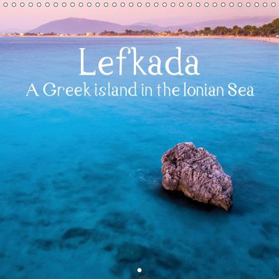 Island of Lefkada (Wall Calendar 2019 300 × 300 mm Square), Alessandro Tortora