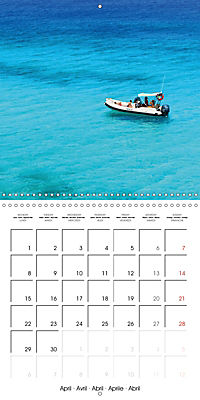 Island of Lefkada (Wall Calendar 2019 300 × 300 mm Square) - Produktdetailbild 4