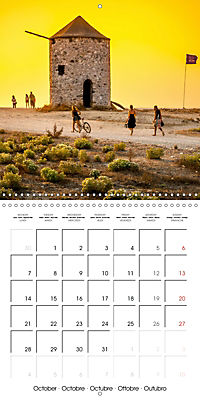 Island of Lefkada (Wall Calendar 2019 300 × 300 mm Square) - Produktdetailbild 10