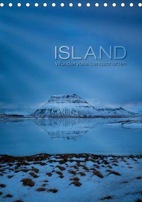 Island - Wundervolle Landschaften (Tischkalender 2019 DIN A5 hoch), Frank Paul Kaiser