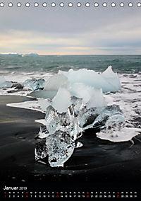 Island - Wundervolle Landschaften (Tischkalender 2019 DIN A5 hoch) - Produktdetailbild 1