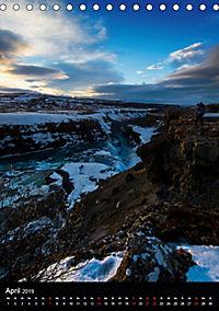 Island - Wundervolle Landschaften (Tischkalender 2019 DIN A5 hoch) - Produktdetailbild 4