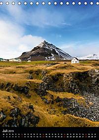Island - Wundervolle Landschaften (Tischkalender 2019 DIN A5 hoch) - Produktdetailbild 7