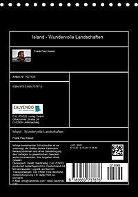 Island - Wundervolle Landschaften (Tischkalender 2019 DIN A5 hoch) - Produktdetailbild 13