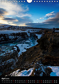 Island - Wundervolle Landschaften (Wandkalender 2019 DIN A4 hoch) - Produktdetailbild 4
