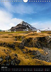 Island - Wundervolle Landschaften (Wandkalender 2019 DIN A4 hoch) - Produktdetailbild 7