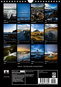 Island - Wundervolle Landschaften (Wandkalender 2019 DIN A4 hoch) - Produktdetailbild 13