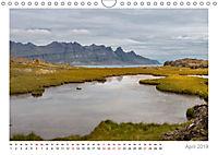 Island: zwischen Wasserfällen und Vulkanen 2019 (Wandkalender 2019 DIN A4 quer) - Produktdetailbild 4