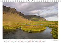 Island: zwischen Wasserfällen und Vulkanen 2019 (Wandkalender 2019 DIN A4 quer) - Produktdetailbild 7