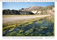 Island: zwischen Wasserfällen und Vulkanen 2019 (Wandkalender 2019 DIN A4 quer) - Produktdetailbild 9