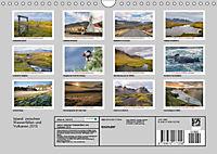 Island: zwischen Wasserfällen und Vulkanen 2019 (Wandkalender 2019 DIN A4 quer) - Produktdetailbild 13