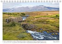 Island: zwischen Wasserfällen und Vulkanen 2019 (Tischkalender 2019 DIN A5 quer) - Produktdetailbild 5