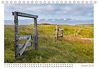 Island: zwischen Wasserfällen und Vulkanen 2019 (Tischkalender 2019 DIN A5 quer) - Produktdetailbild 1