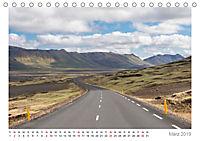 Island: zwischen Wasserfällen und Vulkanen 2019 (Tischkalender 2019 DIN A5 quer) - Produktdetailbild 3