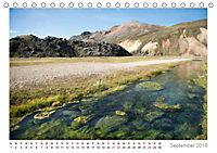 Island: zwischen Wasserfällen und Vulkanen 2019 (Tischkalender 2019 DIN A5 quer) - Produktdetailbild 9