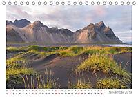 Island: zwischen Wasserfällen und Vulkanen 2019 (Tischkalender 2019 DIN A5 quer) - Produktdetailbild 11
