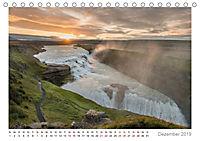 Island: zwischen Wasserfällen und Vulkanen 2019 (Tischkalender 2019 DIN A5 quer) - Produktdetailbild 12
