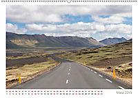 Island: zwischen Wasserfällen und Vulkanen 2019 (Wandkalender 2019 DIN A2 quer) - Produktdetailbild 3