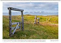 Island: zwischen Wasserfällen und Vulkanen 2019 (Wandkalender 2019 DIN A2 quer) - Produktdetailbild 1