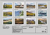 Island: zwischen Wasserfällen und Vulkanen 2019 (Wandkalender 2019 DIN A2 quer) - Produktdetailbild 13