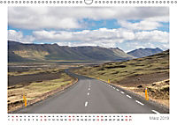 Island: zwischen Wasserfällen und Vulkanen 2019 (Wandkalender 2019 DIN A3 quer) - Produktdetailbild 3