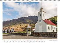 Island: zwischen Wasserfällen und Vulkanen 2019 (Wandkalender 2019 DIN A3 quer) - Produktdetailbild 2
