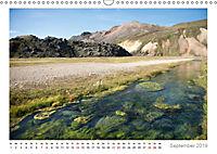Island: zwischen Wasserfällen und Vulkanen 2019 (Wandkalender 2019 DIN A3 quer) - Produktdetailbild 9