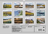 Island: zwischen Wasserfällen und Vulkanen 2019 (Wandkalender 2019 DIN A3 quer) - Produktdetailbild 13